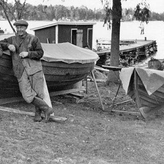 Starten för Lagerviks Fullservice Båtvarv på Blidö