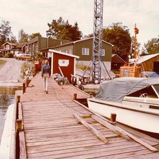 Bygga Lagerviks Fullservice Båtvarv på Blidö
